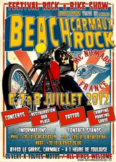 Beach Carmaux Rock 2012