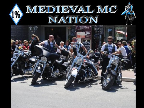 MEDIEVAL MC sur la route de Madison