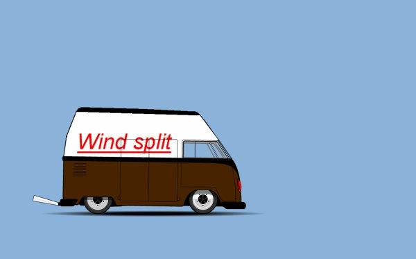 Une très belle reproduction du Wind Split de Serial Kombi par mon frère