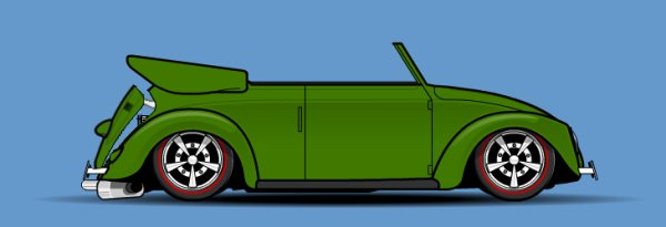 "Cox Split Cabriolet ""Street legal"""