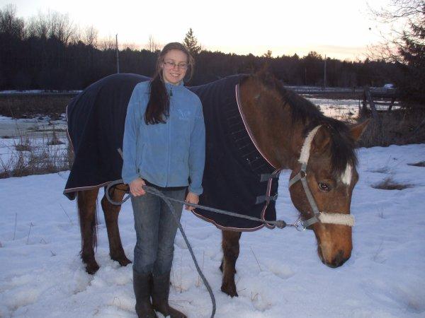 Pâques avec mon cheval :-)