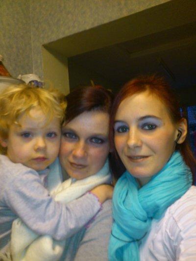 ma filleul - ma belle soeur et moi