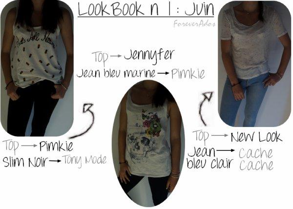 LookBook n°1 : Juin