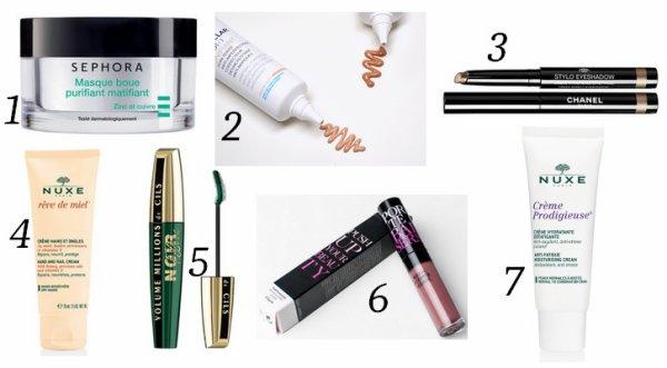 Favoris Novembre : Make up et Soins
