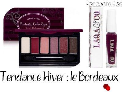 Tendance Hiver : le Bordeaux