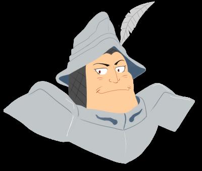 Capitaine des Brutos... Adelbert Steiner... Je me presse de venir prêter main-forte aux deux respectables personnes que vous êtes !