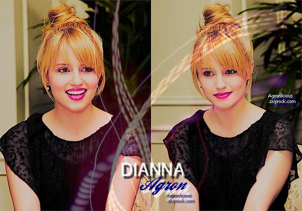 Agronlicious source n° 1 consacrée à la belle Dianna Elise Agron ! ♥