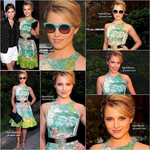 """Outside : 19 Juin   Dianna été à la """" Summer Party """" High Line présenté par Coach ! Flop ou Top ?"""