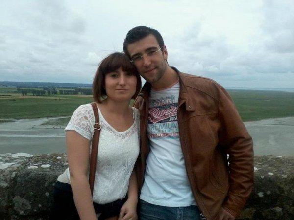 Mon Chéri et moi.