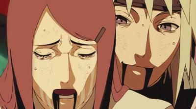 Naruto et sa famille en image