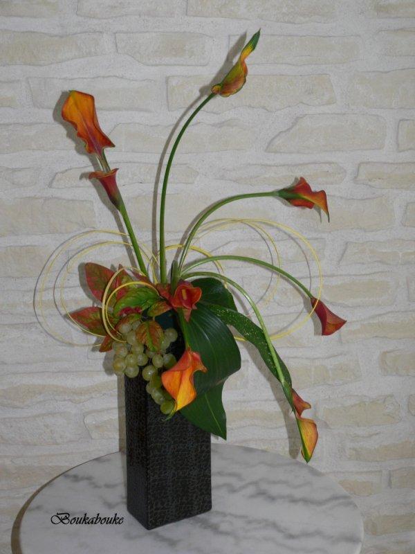 Bouquet moderne d'automne