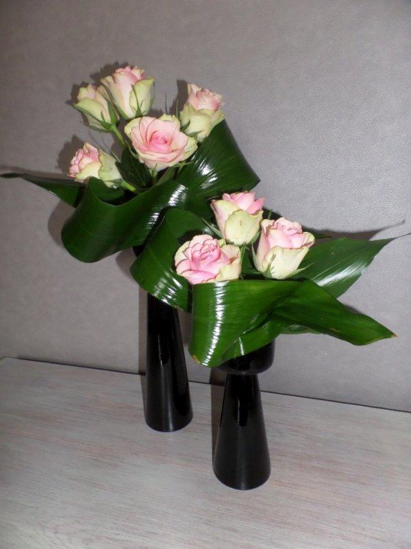 Duo de roses...