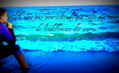 Merci dieu que l'indifference de nos jour n'a pas crée la solitude ( Cas tunisie )