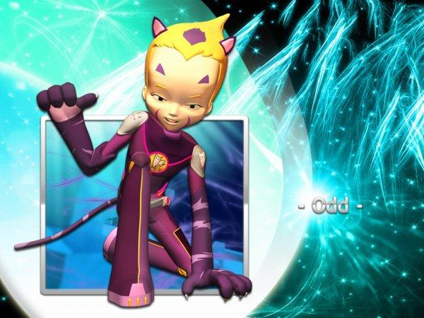 Code Lyoko personnage Odd
