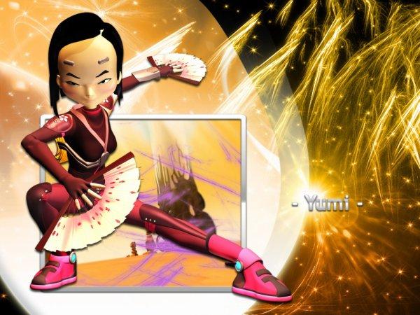 Code Lyoko personnage Yumi