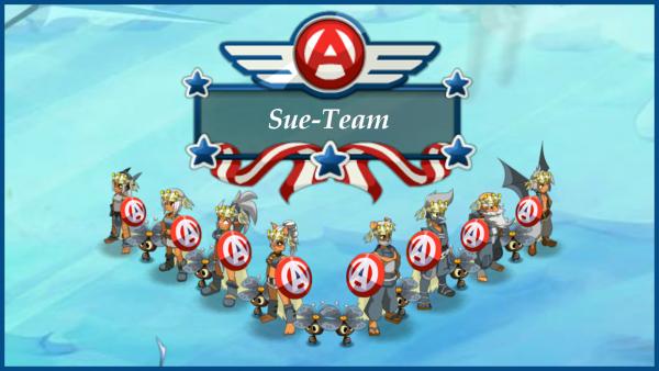 Sue-Team L'héros de l'année !!