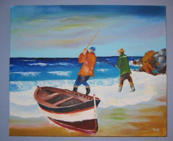la mer toujours... et ses pêcheurs !