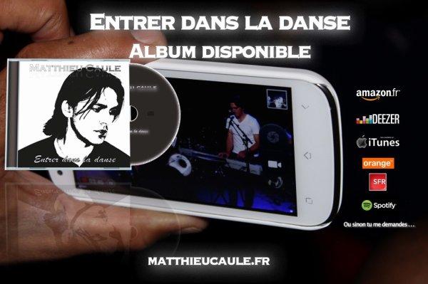 """L'album """"Entrer dans la danse"""" disponible partout. Allez, entrez dans la danse..."""