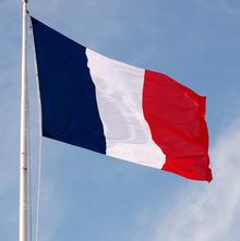 Drapeau de la Republique Française