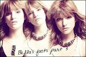 Le 3eme fact sur bella !