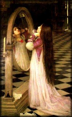 Le mirroir de minuit avez vous peur for Dame blanche miroir minuit