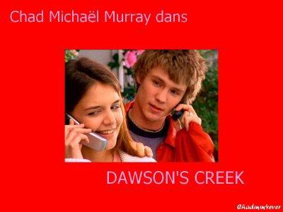 """Chad Michael Murray dans la série """"Dawson."""