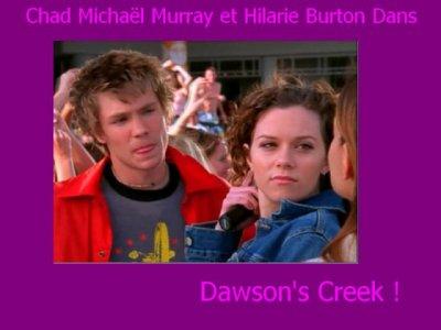 """Chad Michael & Hilarie dans la série """"Dawson""""."""