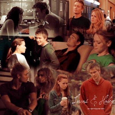 L'amitié de Lucas et Haley
