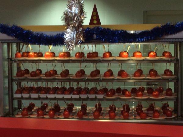 189 pommes d amour pour les élèves faite maison