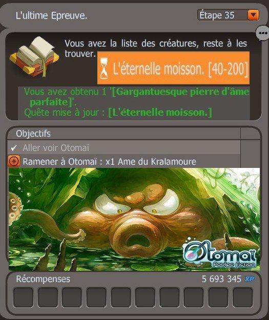 Objectif Eternelle Moisson #Flooflox