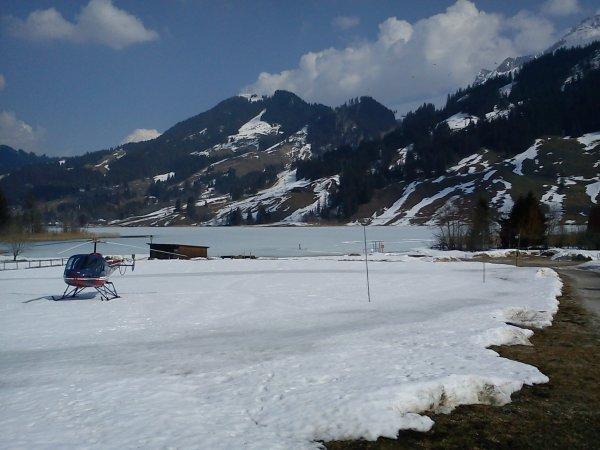 encore le lac noir....ben oui il est gelé