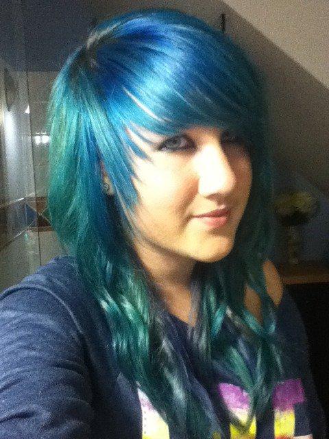 Wish i had my blue hair back..