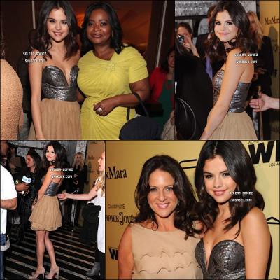 24/02/12 : Selena s'est rendue à la 5ème cérémonie des « Women In Film Pre-Oscar Cocktail Party ».