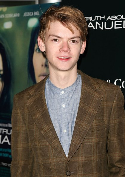 Thomas Sangster assiste à la première du film de Tribeca  and Well Go USA «The Truth About Emanuel