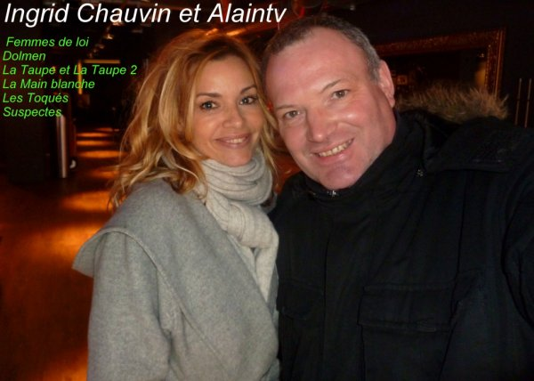 Ingrid Chauvin Actrice Francaise