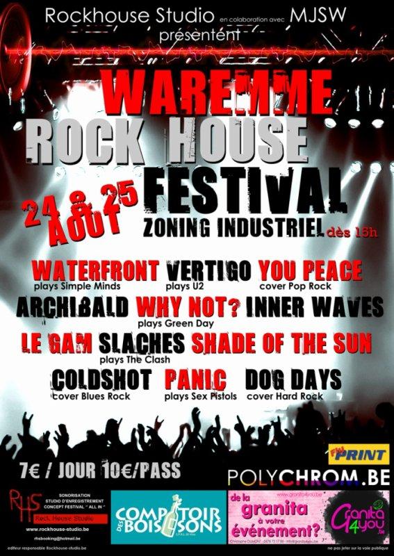 Prochain concert le 24/08/2012 à waremme
