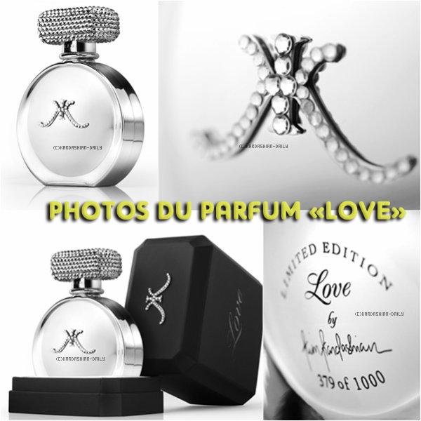 """.  SITE OFFICIEL : Nouveau parfum intitulé """"Love"""" en édition limitée ! Aimez-vous ce design ?  ."""