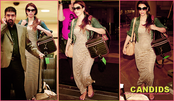 .   CANDIDS 06.08.11 : Kim a l'aéroport LAX de Los angeles.  .
