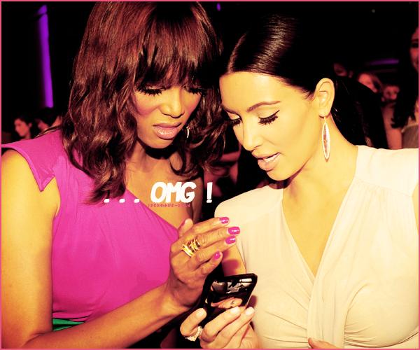 .  APPARTION 14.08.11 :  Voici les premières vidéos de Kim a la cérémonie des Do Something Awards.  .