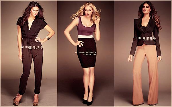 .  SEARS :  De nouvelles photos de la Kardashian Kollection sont disponibles ! Qu'en pensez-vous ? .