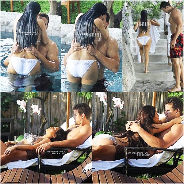 .   EXCLU : Nouvelles photos de la lune de miel de Kim et Kris en Italie.   .