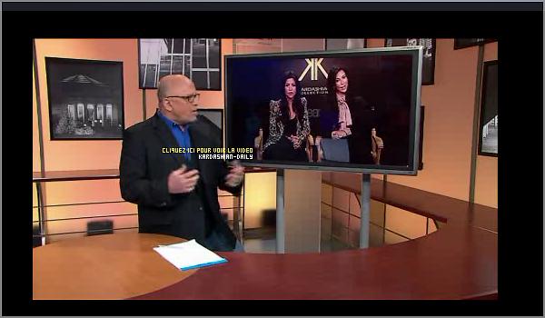 .  VIDEOS : Les soeurs Kardashian étaient en interview sur la chaine ABC. .