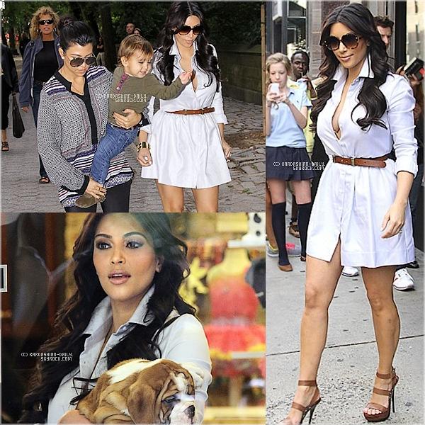 .  CANDIDS 16.09.11 : La belle a été repérée, hier, par les paparazzis à New-York.  .