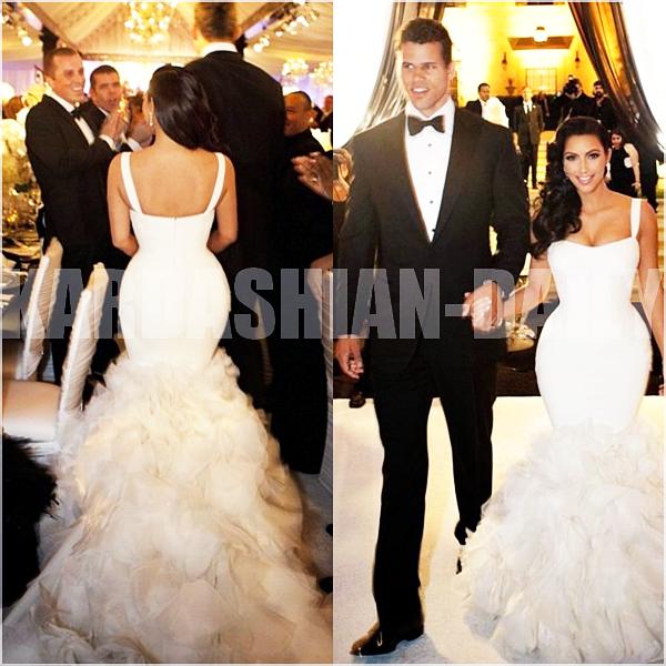 .  EXCLU : Découvrez des nouvelles photos du mariage de Kim et Kris Humphries.  .