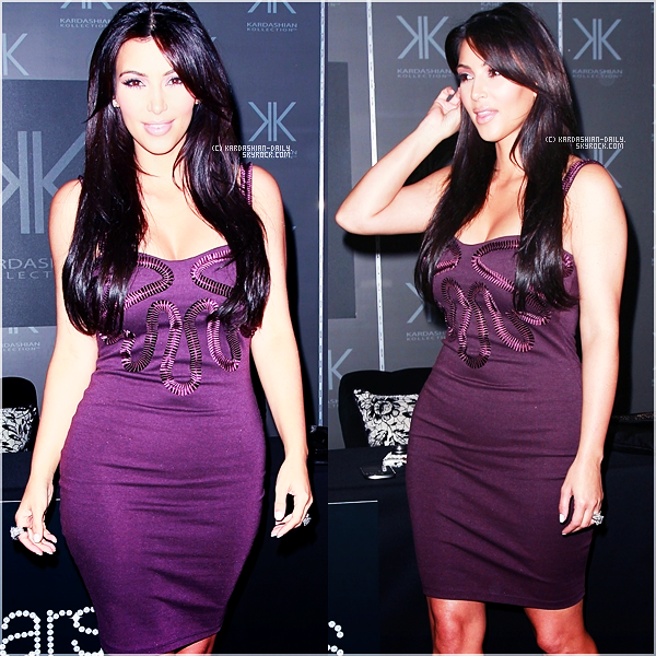 .   APPARITION 18.09.11 :  Kim,Kourtney et Khloe au magasin Sears pour la Kardashian Kollection. .