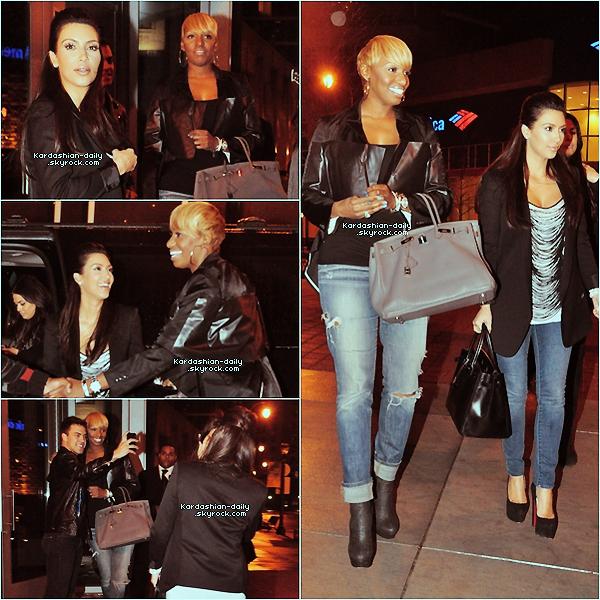 _ ►Candids 29.02.12  : Photos exclusives de la belle en compagnie de Nene Leakes à Atlanta. Elles ont été aperçues par les paparazzis quelques minutes après avoir quittées le restaurant STK.  _