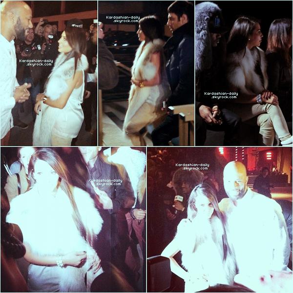 _ ►Apparition 06.03.12 : En exclusivité, les premières photos de la belle au défilé de Kanye West. Kim avec Common sur la première et cinquième photo et assise à côté de Big Sean sur la troisème.  _