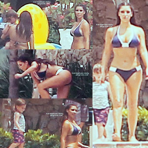 _ ►Candids 31.03.12  :Première photo de Kim à Altos de Chavon en République Dominicaine. La famille Kardashian devrait y rester 5 jours ou elle est en tournage pour la saison 7 de KUWTK.  _