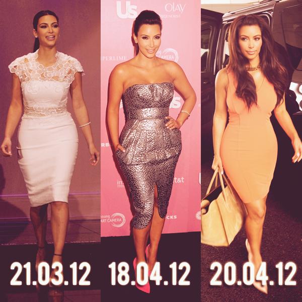 - ► APPARITIONS : LES MEILLEURES LOOKS DE KIM KARDASHIAN EN 2012!  Voici, selon moi, les tops de 2012 de Kim. Vous pouvez voter pour LE top de l'année ci-dessous. -
