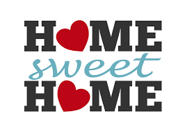 home sweet home une expression que j'adore